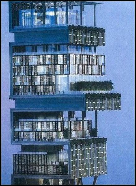 Mukesh Ambani S Million Dollar House Susheel S Site