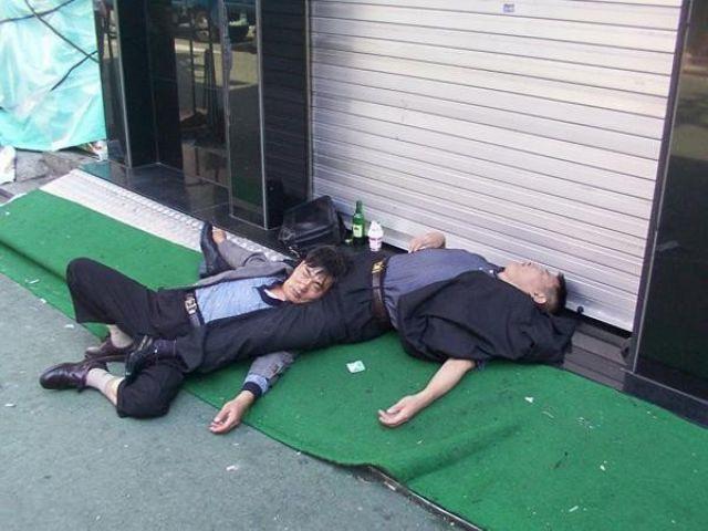 drunk koreans