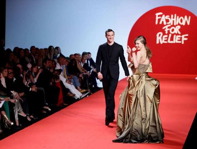 Tripple Tumbling on the Cannes Catwalk