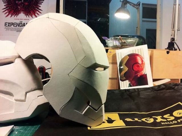 profile paper on iron man Iron man helmet paper model the 2008 iron man movie has inspired a lot of great papercraft and here is another one to view my complete profile about tektonten.