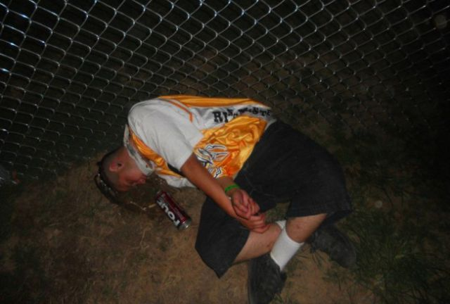 Passed Out Juggalos