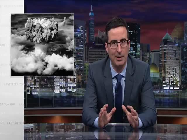 John Oliver's Take on the Scary State of U.S. Nuclear Weapons  (VIDEO)