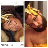 One Guy Recreates Tinder Profile Pics of Girls  (45 pics)