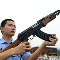 A Dumping Ground for Seized Weapons in China  (12 pics)