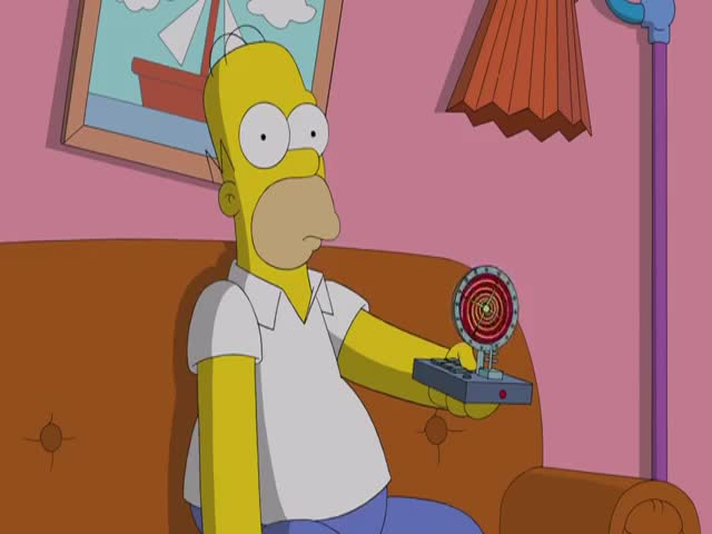 Weirdest, Creepiest Simpsons Couch Gag Ever  (VIDEO)
