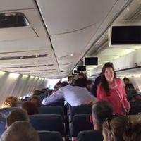 Why You Should Never Joke about Having Ebola on a Plane  (10 pics + 1 video)