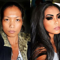 Remarkable Makeup Makeovers  (24 pics)