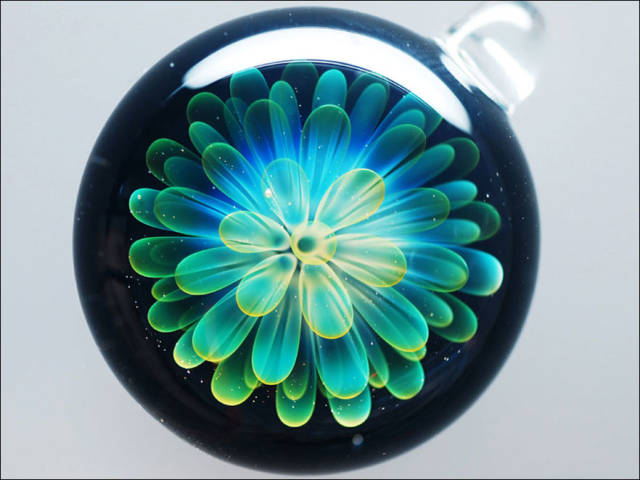These Beautiful Decorative Ornaments Capture Outer Space in a Glass