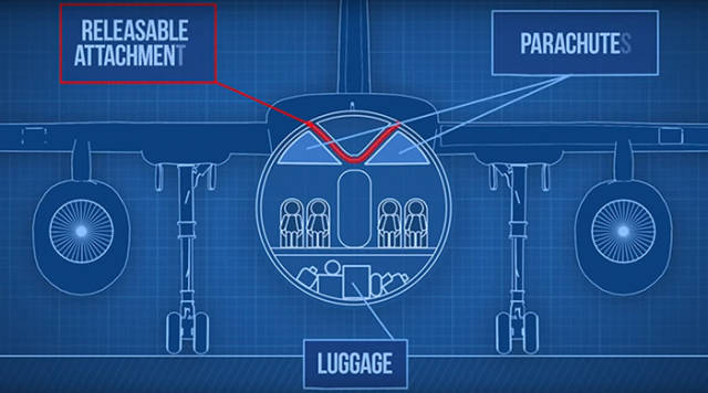 This Detachable Plane Cabin Could Save Lives in the Future