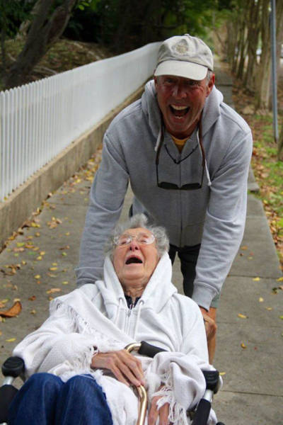Instead Of Treating Cancer, 90-Year-Old Woman Hits The Road
