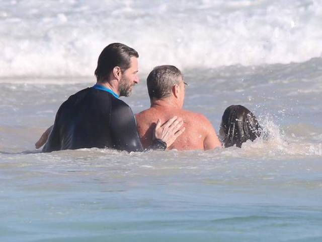 Hugh Jackman Rescues His Son And Some Other Swimmers From Dangerous Waters