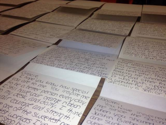This Amazing Teacher Writes Letters To All Of Her Students Saying Why They Are Unique