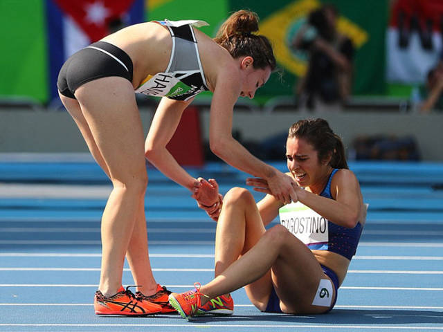 These Athletes Didn't Win Medals, But They Won The Hearts Of Millions