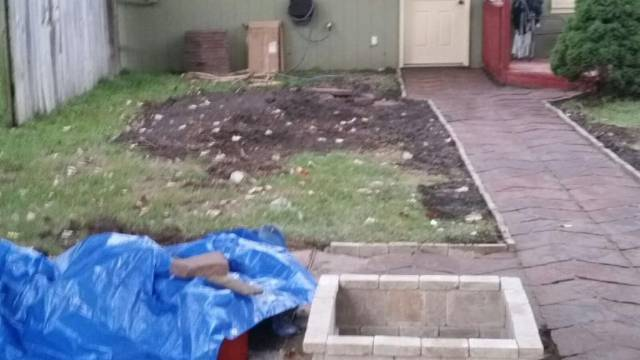This Is What A Guy Did In His Backyard In Just One Weekend