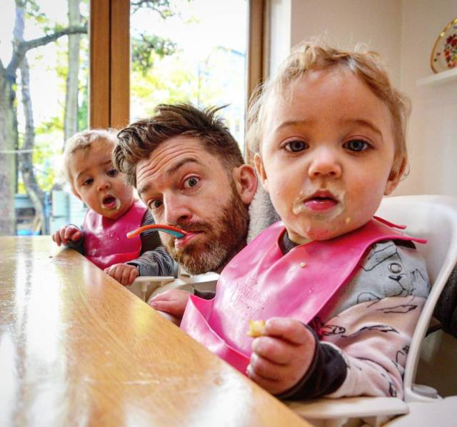 The Father Of 4 Girls Takes The Internet By Strom With His Clever And Fun Instagram Photos