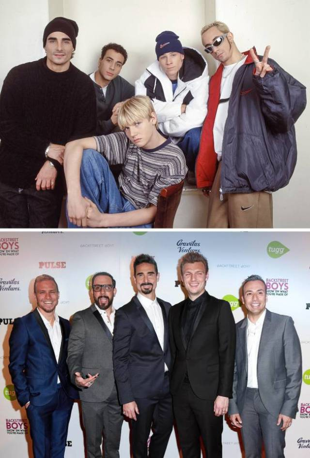 How Members Of The Top 3 Boys Bands From The 90's Look Today